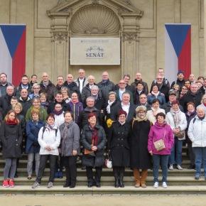 Le chœur d'hommes à Prague!