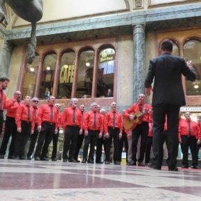 Le chœur d'hommes s'exporte à Prague!