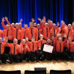 Les Joyeux Compagnons, élus 3ème meilleure chorale du Grand Est!