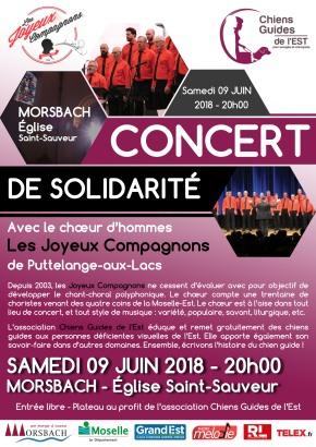 En concert à Morsbach le 09 juin2018
